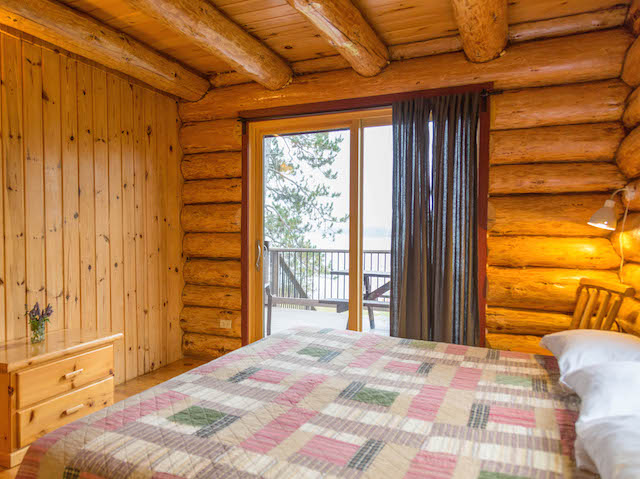 4 Bedroom Log Cabin Rental White Eagle Resort On Lake