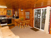 Classic resort cabin rental on Lake Vermilion