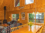 Private Vacation Home on Lake Vermilon