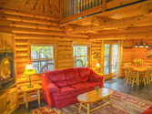 Log cabin vacation home on Lake Vermilion